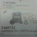 (05731)SCAMBIATORE FIAT/OPEL 1.3D + GUARNIZIONE
